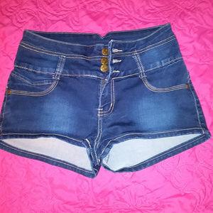 JZ Jeans Nina Rossi Juniors Short Shorts Size 7